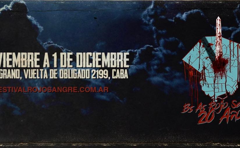 Se viene la 20° edición del Festival Buenos Aires Rojo SangreBARS