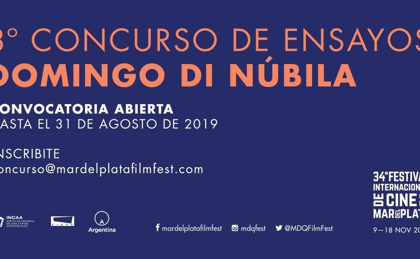 Abrió la convocatoria para el concurso de ensayos Domingo DiNúbila